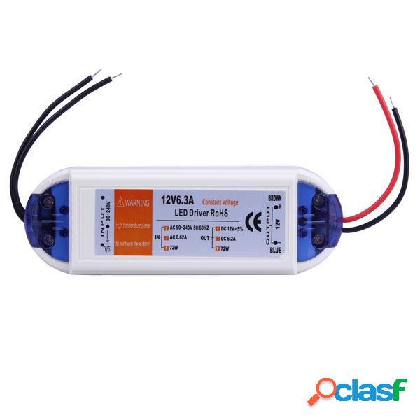 12V 72W LED Alimentazione Elettrica Trasformatore di Driver