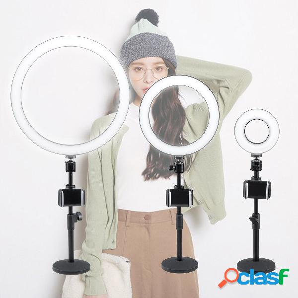 """13/9/5 """"Dimmerabile LED Ring Light Stand Photo Video"""