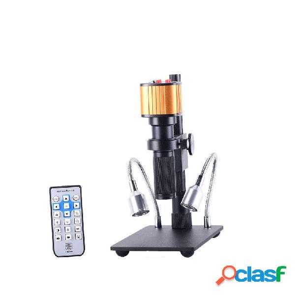 16MP HD Microscopio elettronico digitale industriale