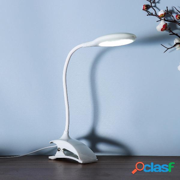 17W LED Scrivania lampada Lampada da tavolo flessibile
