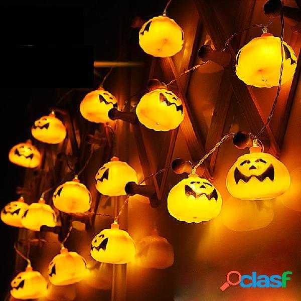 2.7M 16 LED Luci della stringa zucca di Halloween LED Luci