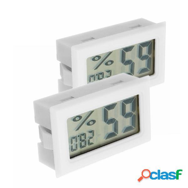 2 Pz Digital Mini LCD Digital Termometro Igrometro Frigo
