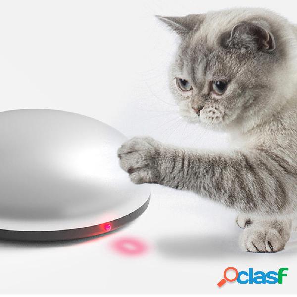 2 in 1 Gatto Laser Giocattolo Pet Spazzare Detergente Robot