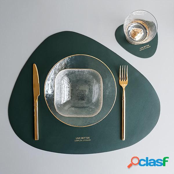 2 pezzi / set da cucina sottobicchieri sottobicchieri tavolo