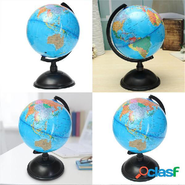 20 centimetri blu oceano mappa del globo del mondo con