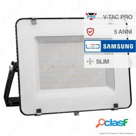 200W LED Floodlight SMD SAMSUNG CHIP Black Body 4000K