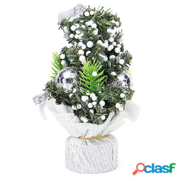 20cm mini albero di natale fiore decorazione della tavola
