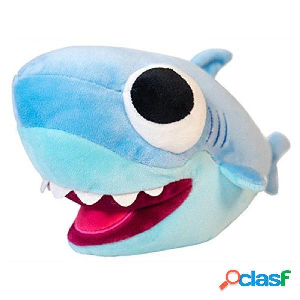 25cm Big Shark Shark Peluche Animal Shark Soft Bambole di