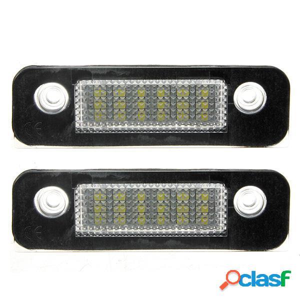 2x 12v 18 LED s numero di targa luce lampade per ford mondeo