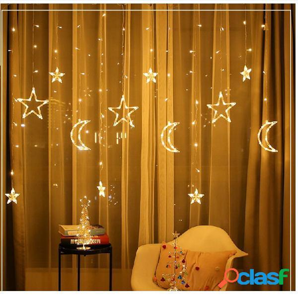 3.5M LED Moon Star Fairy String Light Wedding Holiday