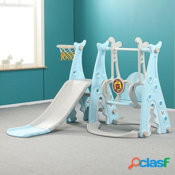 3 IN 1 Parco giochi per bambini di grandi dimensioni Slide &