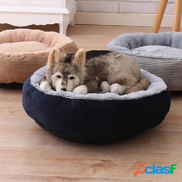 3 colori antigraffio Winter Warm Pet Letto Kennel Dog Cat