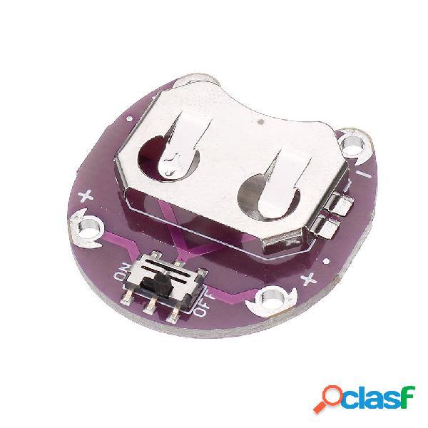 3 pezzi LilyPad Coin Cell Batteria Supporto CR2032 Batteria