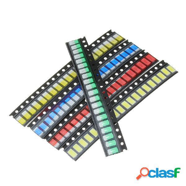 300 Pz 5 colori 60 cad. 5730 LED Kit diodi SMD LED Kit diodi