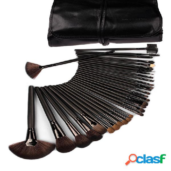 32PCS Professional Fiber Trucco Spazzole Set Foundation