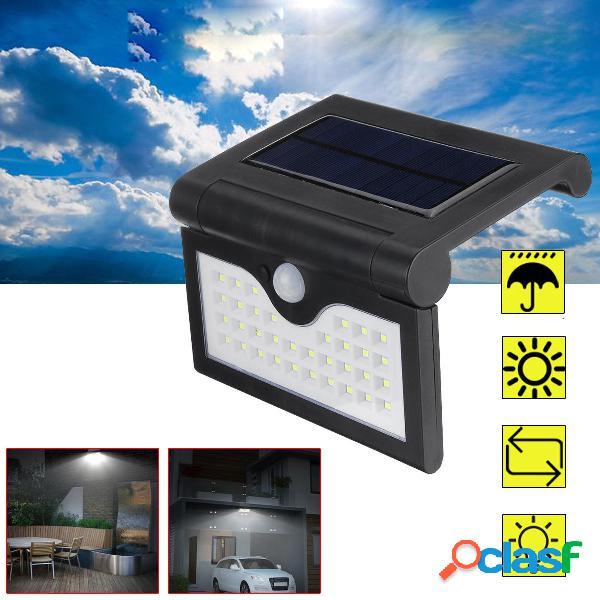 34 LED solare Power Light Outdoor PIR Sensore di movimento