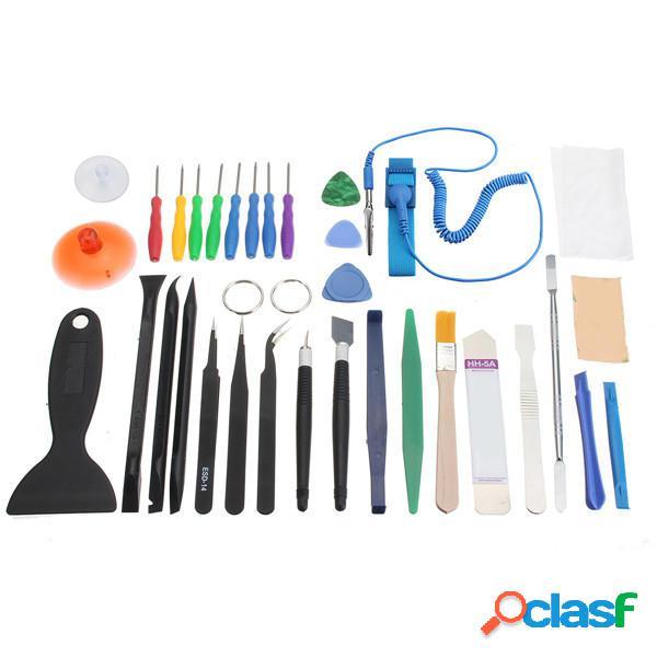 34Pcs Kit di attrezzi di riparazione per apertura
