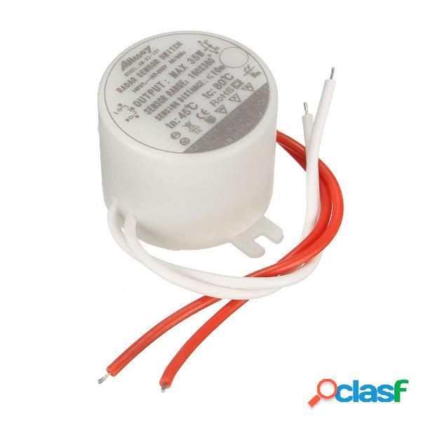 35w microonde radar circolare interruttore del sensore di