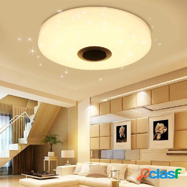 36W RGBW Starlight LED Soffitto lampada Musica Luce