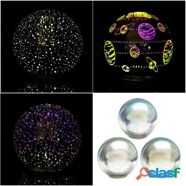 3D LED Night Light Glass lampada Magica sfera di cristallo