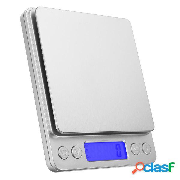 3KG Digital LCD Cucina elettronica Scala Cottura postale