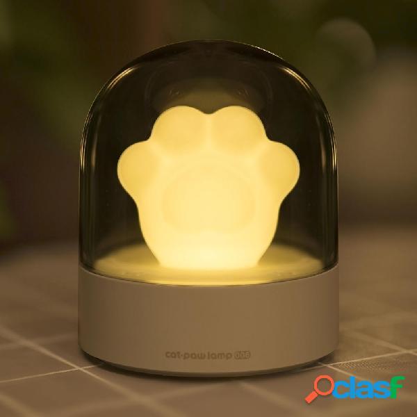 3Life 006 Creativo Cat Paw Musical Night Light Ricarica USB