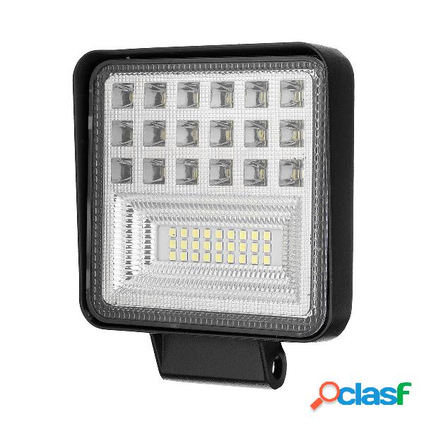3Pcs 126W LED Luci da lavoro Spot Light Flood Spot Driving