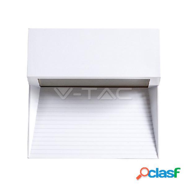 3W LED Step Light White Body Square 4200k