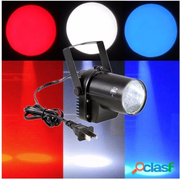 3w illuminazione fascio bianco LED riflettori Pinspot dj del