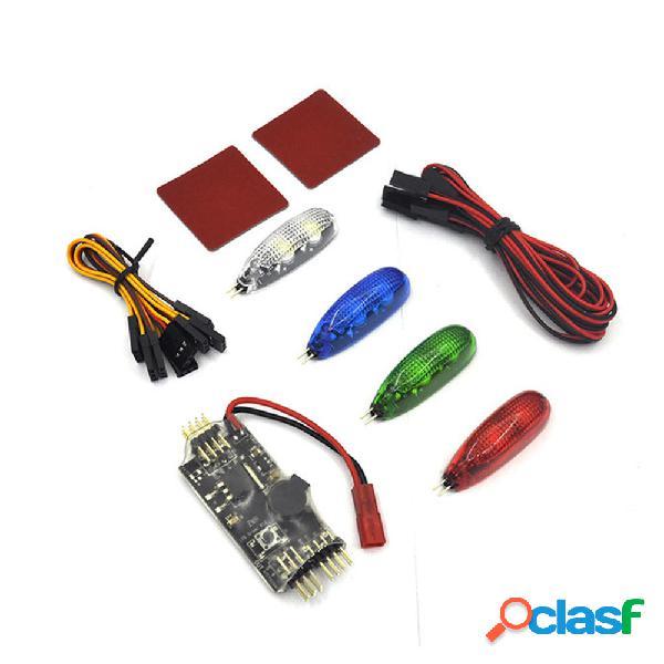 4 PCS 12V Night Light con LED Scheda controller Buzzer