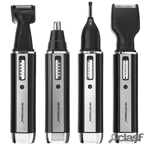 4 in 1 elettronico Trimmer Naso lavabile Capelli