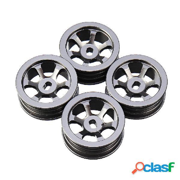 4 pezzi Wltoys 1/28 K979 K989 cerchioni ruote per auto RC