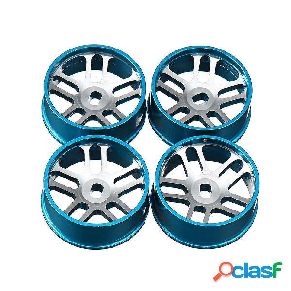 4 pezzi Wltoys Metal Hub RC Car Wheel 1/28 per K989 e IW04M