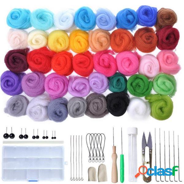 40 colori Soft tappetini in feltro di lana antipasti