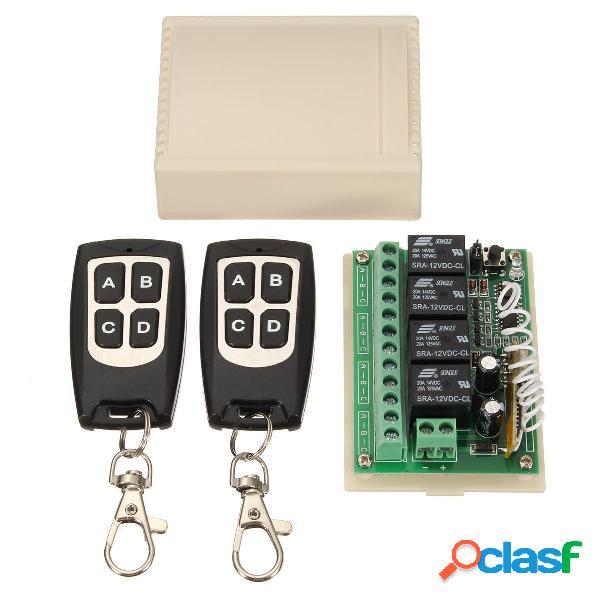 4CH 200M Wireless remoto Interruttore relè di controllo