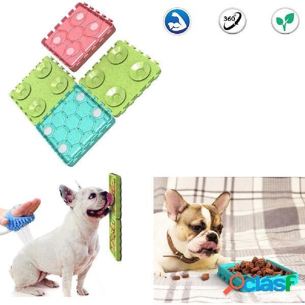 4PCS Ciotole per animali domestici Combinazione di cani