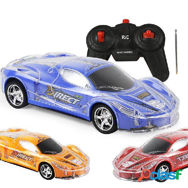 4WD 1/24 RC remoto Control Light Up Racing Car W / 3D