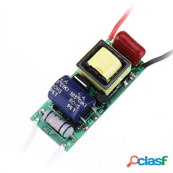 5 pezzi 7 W 9 W 12 W 15 W 7-15 W LED Ingresso driver AC