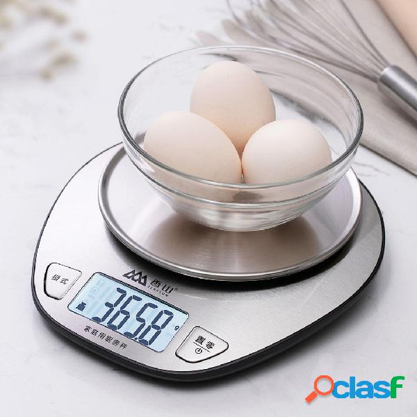 5000g / 1g Cucina elettronica Peso Scala Cottura digitale ad