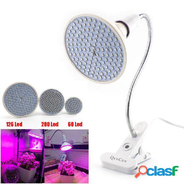 60 126 200 LED Luce Coltivazione di Pianta con 360 Clip da