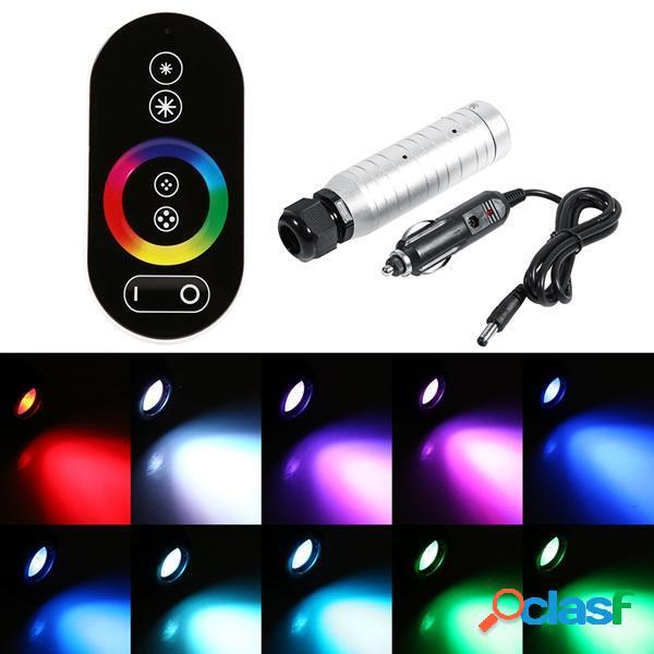 6W RGB LED Fibra 0ptic Night Light + RF remoto Controllo per