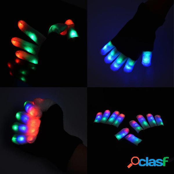 7 Modalità LED Lampadine a infrarossi Lampeggianti