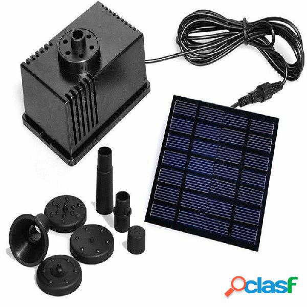 7V / 1.5W solare Pompa per stagno alimentata da pannello 6V