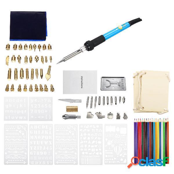 94Pcs 60W elettrico Saldare kit ferro ferro da stiro penna