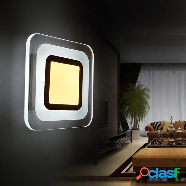 9W LED Modern Square Aisle Scalinata Living Room Applique da