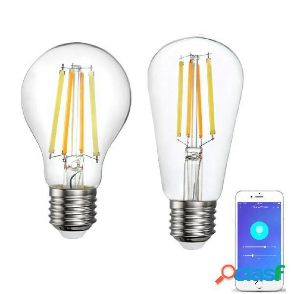 AC220V A60 ST64 Filamento Smart luce a led Lampadina