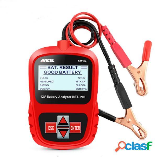 ANCEL Bst200 Car Batteria Tester multi-lingua 12V 1100CCA