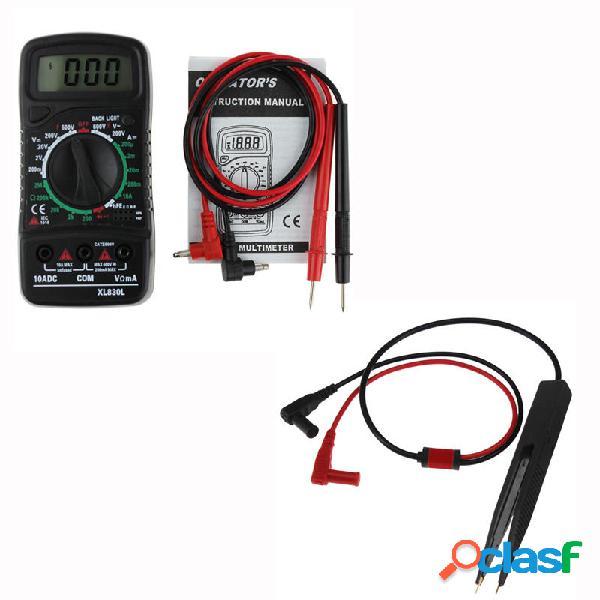 ANENG XL830L Digital LCD Multi Metri Volt Meterr Amperometro