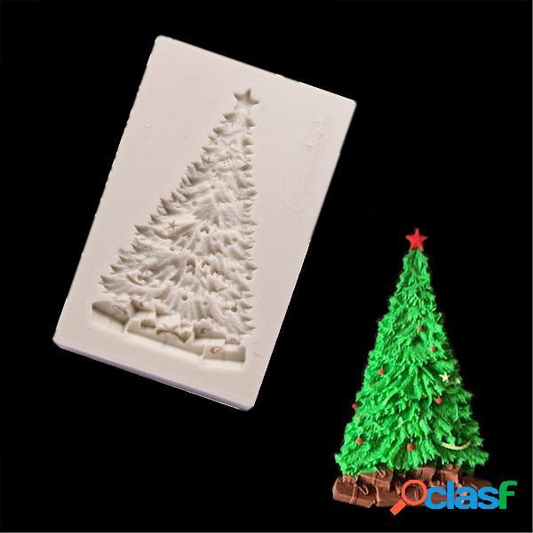 Albero di Natale Silicone Stampo per dolci Fondente di