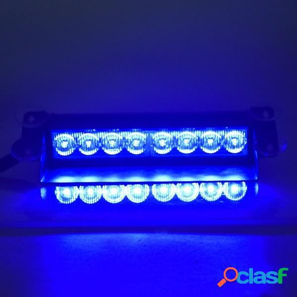 Auto LED RGB 16 colori solare remoto Controllo avvertimento